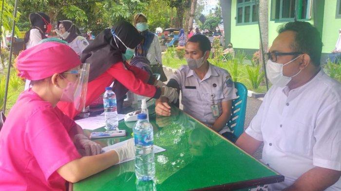 Kodim 1303/Bolmong Gelar Vaksinasi Massal, Targetkan 2.000 Warga Terima Vaksin Covid-19