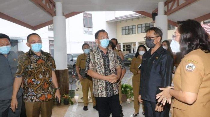 Dolvin Karwur cs Sambut Pemimpin Baru Kota Tomohon
