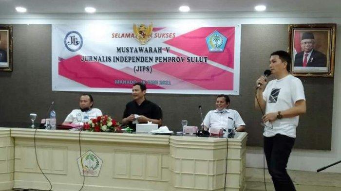 Donny Aray Wartawan Kompas TV Terpilih Menjabat Koordinator JIPS