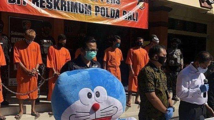 Boneka Doraemon Jadi Barang Bukti, Ini Cerita Lengkap Kasus Pembobolan ATM