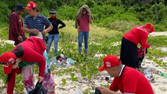 HUT ke 74 Megawati Soekarnoputri, DPC PDI Perjuangan Boltim Lakukan Gerakan Menanam Pohon