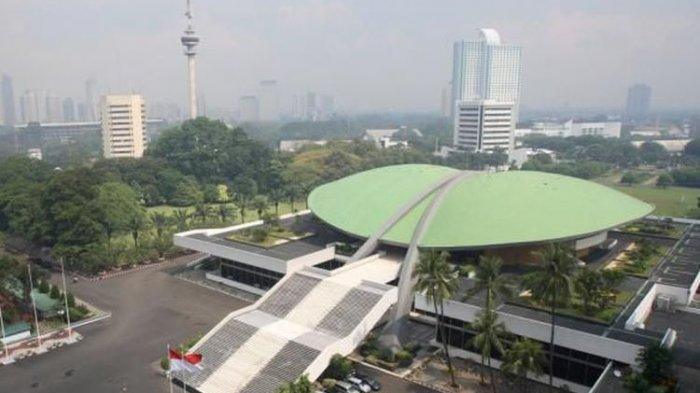 Website Resmi Dpr Ri Diretas Hacker Kini Berubah Jadi Dewan Pengkhianat Rakyat Tribun Manado