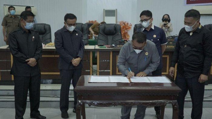 DPRD Bitung Kembalikan Rp 2,7 Miliar ke Kas Daerah