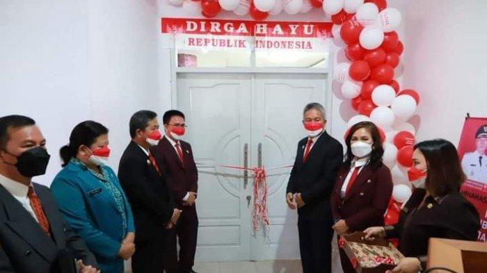 DPRD Kabupaten Minsel Punya Ruangan Tamu VVIP