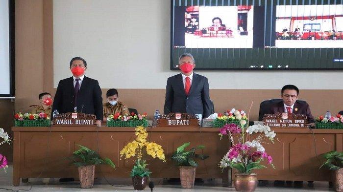 DPRD Minsel Gelar Rapat Paripurna