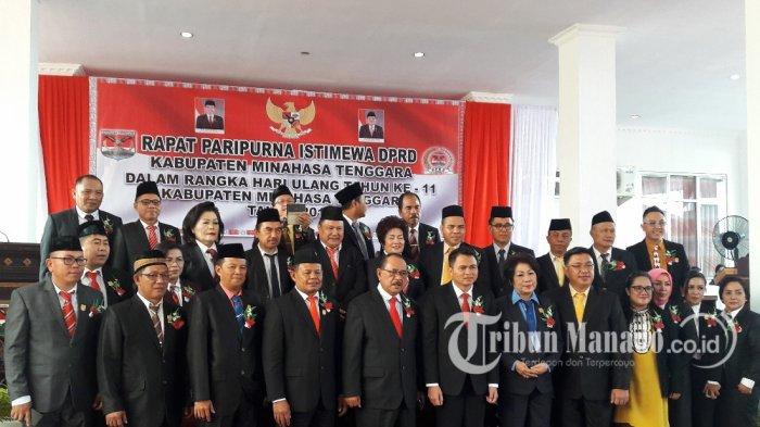 Nasib Lima Anggota DPRD Mitra yang Pindah Partai di Pileg 2019 di Tangan Gubernur Sulut