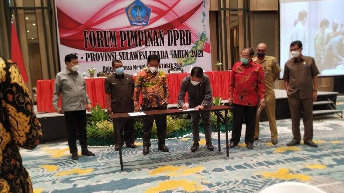 DPRD Sulut Kumpulkan Pimpinan Dewan 15 Kabupaten dan Kota, Telurkan 11 Rekomendasi