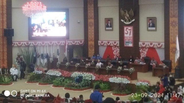 HUT ke-57 Provinsi Sulut, DPRD Gelar Rapat Paripurna Istimewa