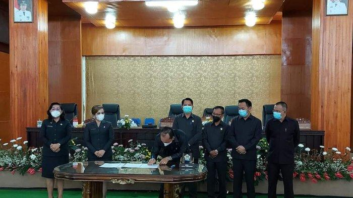 DPRD Umumkan Pengusulan Pemberhentian Wali Kota dan Wawali Tomohon, CS-WL Dilantik 17 Februari