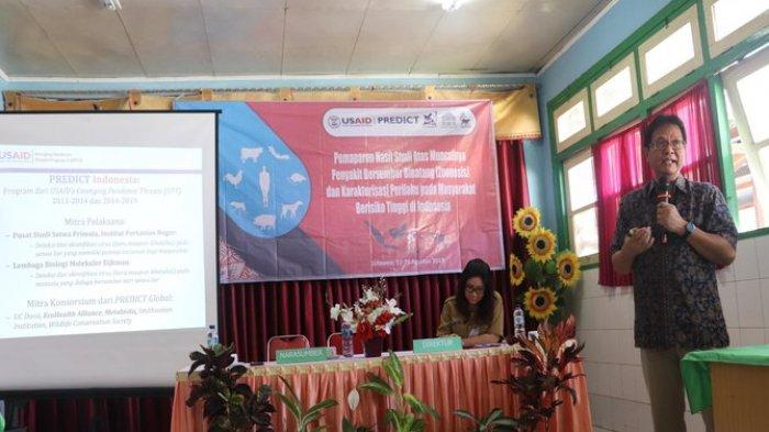 Konsumsi Satwa Liar Meningkat, USAID PREDICT-Indonesia Ingatkan Risiko Zoonosis di Minahasa