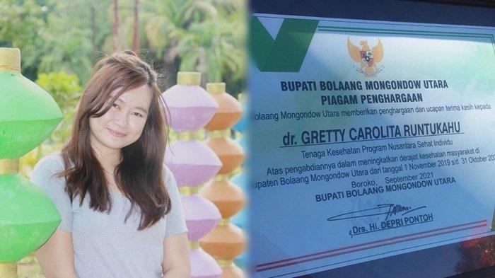 Profil Dr Greety Runtukahu, Nakes Bolmut yang Raih Penghargaan Program Nusantara Sehat