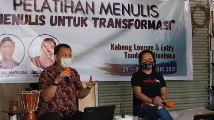Dr Ivan Kaunang saat memberikan materi