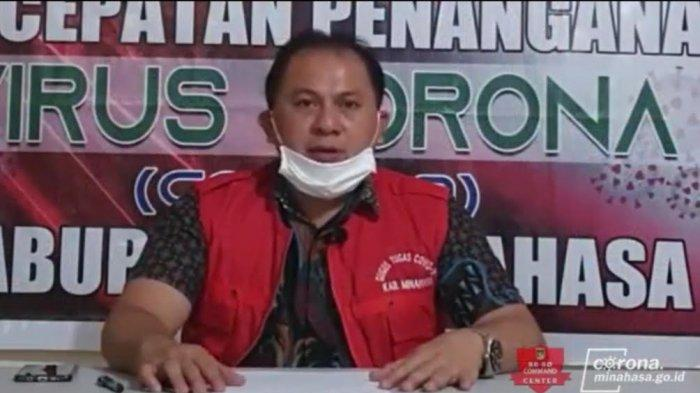 Juru Bicara Gugus Tugas Percepatan Penanganan Covid-19 Kabupaten Minahasa dr Maxi Umboh