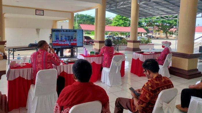 Bupati Yasti Mokoagow Pimpin Rakor Bersama Sangadi Se-Bolmong, Bahas Dana Desa Hingga Pilsang