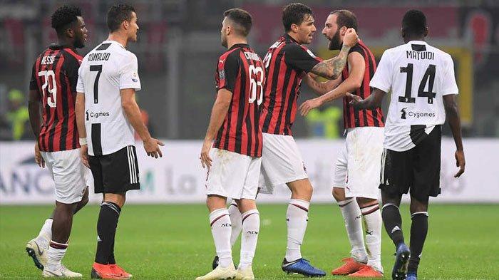 LIVE Streaming RCTI AC Milan vs Juventus, Kick Off Pukul 02.45 WIB, Rossoneri Diunggulkan