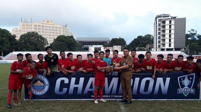 Drawing Soeratin U17 Sulut FC Tergabung di Grup Maut, Ada Persib Bandung