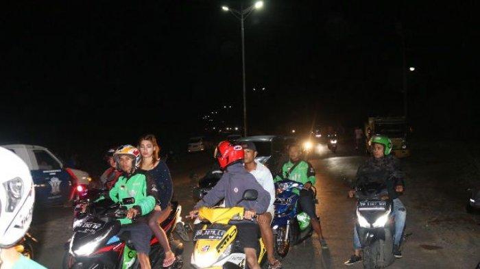 Heboh Driver Ojek Online Hilang, Warga Minta Pos Pengawas di Jalan Sukarno