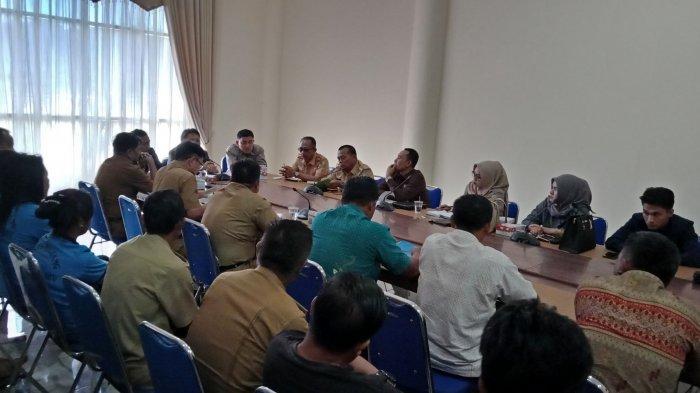 DRPD Bolmong Gelar Rapat Dengar Pendapat Masalah Sangadi