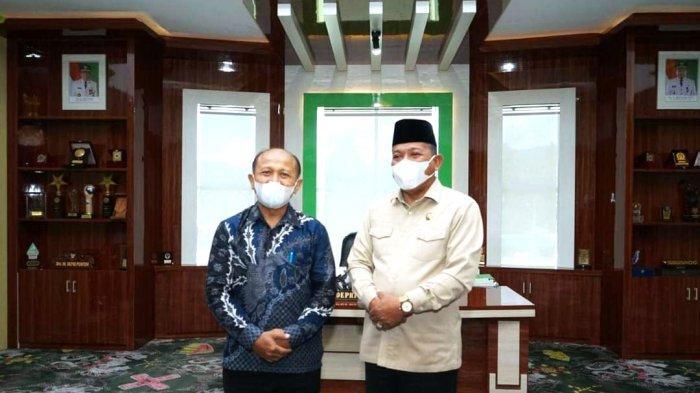 Bahas Peningkatan SDM, Bupati Bolmut Terima Kunjungan Rektor Universitas Dumoga Kotamobagu