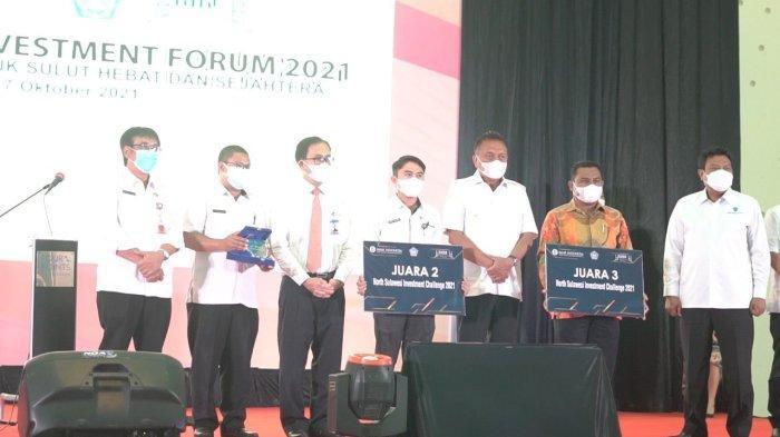 Dua ASN Harumkan Nama Bolmong di Kick Off North Sulawesi Investment Challenge 2021