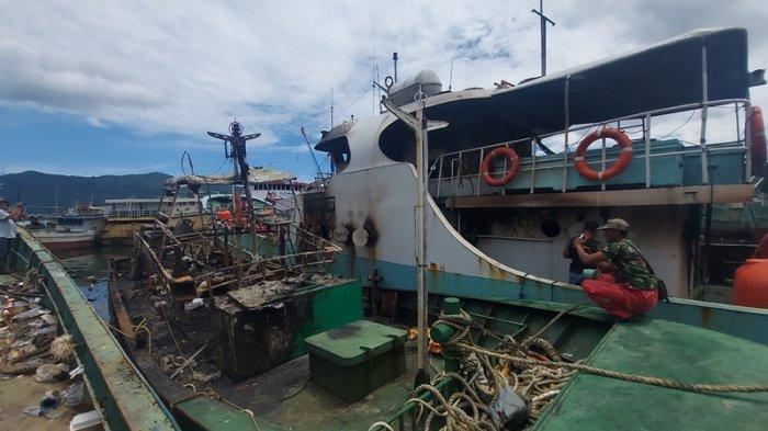Kronologi 2 Kapal Ikan di Bitung Terbakar, ABK Sempat Hidupkan Kompor Lalu Ditinggal Mandi
