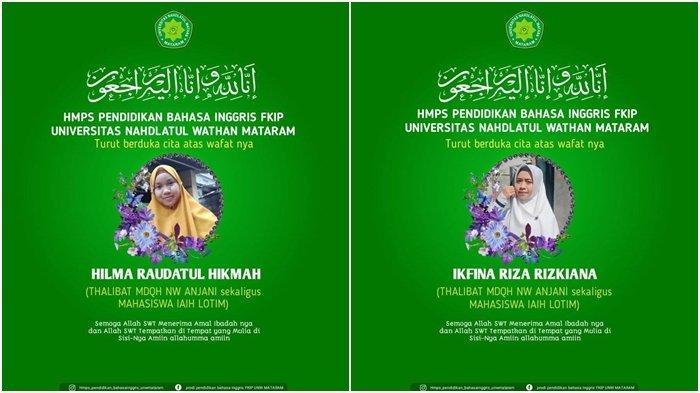 Innalillahi Dua Mahasiswi Meninggal Alami Kecelakaan, Motor Dihantam Truk yang Ngebut, Sopir Kabur