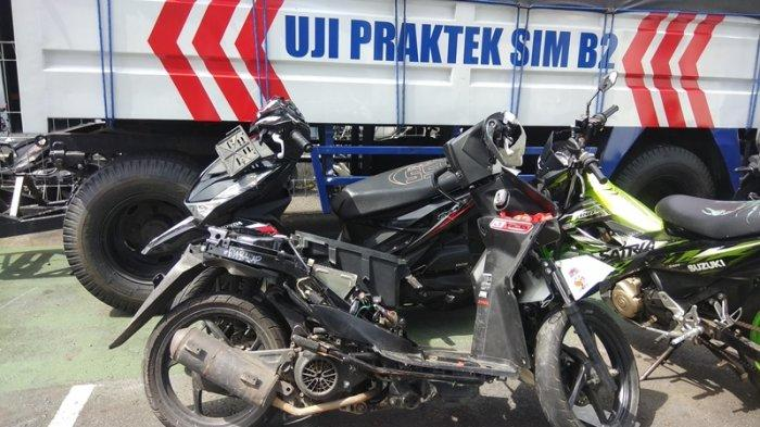 Kecelakaan di Kawasan Mega Mas Manado, 2 Motor Saling Tabrak, Viral di Media Sosial