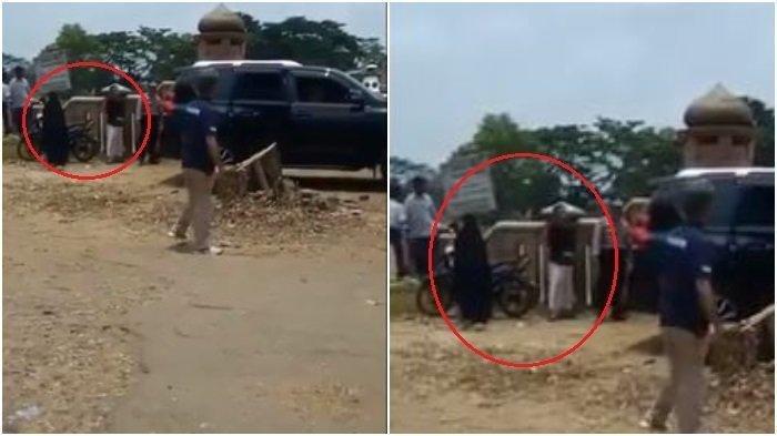 Video, Detik-detik Sosok Pelaku Sebelum Menyerang Wiranto Terekam Mondar-mandir di Belakang Mobil