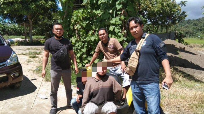Bobol Rumah Warga, Dua Pelaku Curanmor Ini Diamankan Polsek Langowan