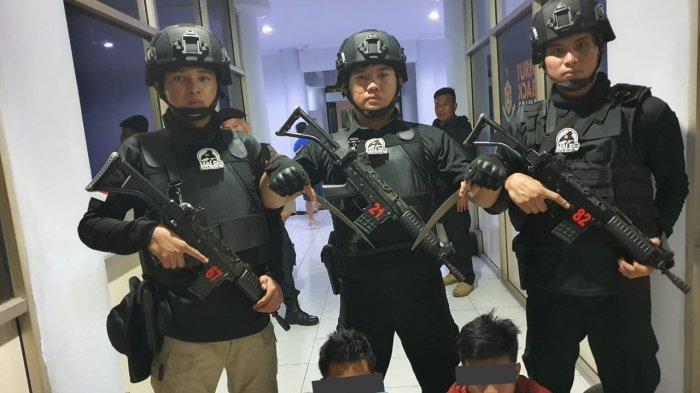Dua Remaja di Manado Ditangkap Tim Maleo Karena Kedapatan Bawa Sajam