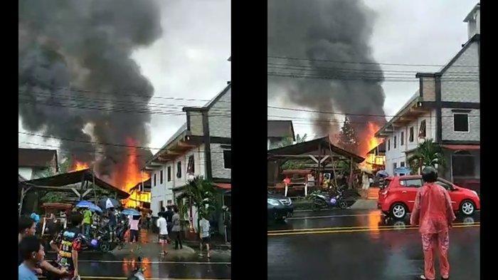 Dua Rumah di Kelurahan Wawali Ratahan Minahasa Tenggara Ludes Terbakar