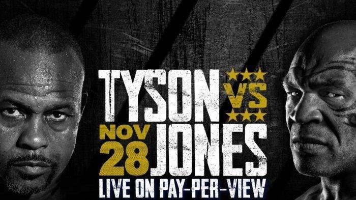 LINK Live Streaming Mike Tyson vs Roy Jones Jr, Duel Tinju Legendaris, Akses di Sini