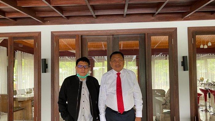 Dukungan untuk Olly disampaikan Alkatiri ketika berkunjung ke kediaman Olly di Desa Kolongan Kecamatan Kalawat Kabupaten Minahasa Utara, Minggu (29/11).