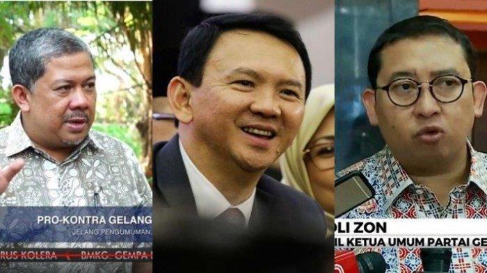 Dulu Sering Kritik Ahok, Kini Fahri Hamzah Dukung BTP jadi Bos BUMN, Fadli Zon Singgung Peran Jokowi