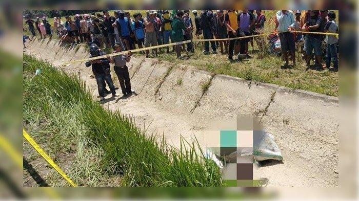 Dua Hari Menghilang, Istri Anggota TNI Ini Ditemukan Tak Bernyawa Dalam Karung di Saluran Irigasi