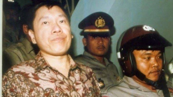 Profil sosok Eddy Tansil, koruptor yang kabur dari penjara 8 Mei 1996. Kasus korupsi Bapindo.