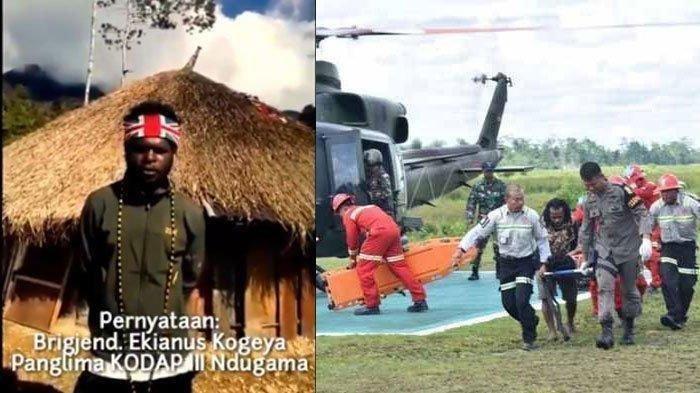 Egianus Kogoya (kiri), Otak Serangan <a href='https://manado.tribunnews.com/tag/kkb-papua' title='KKBPapua'>KKBPapua</a> yang Masih 17 Tahun
