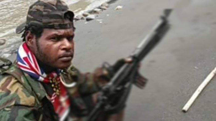 Egianus Kogoya, Pimpinan KKB di Nduga, Papua. Terbaru serang 3 personel TNI.