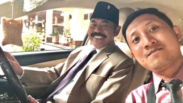 Eks Wali Kota Solo FX Hadi Rudyatmo (kiri) bersama sang ajudan, Nirwan Pambudi (kanan). Nirwan menceritakan sejumlah kesan yang ia rasakan selama bertugas menjadi ajudan FX Rudy.