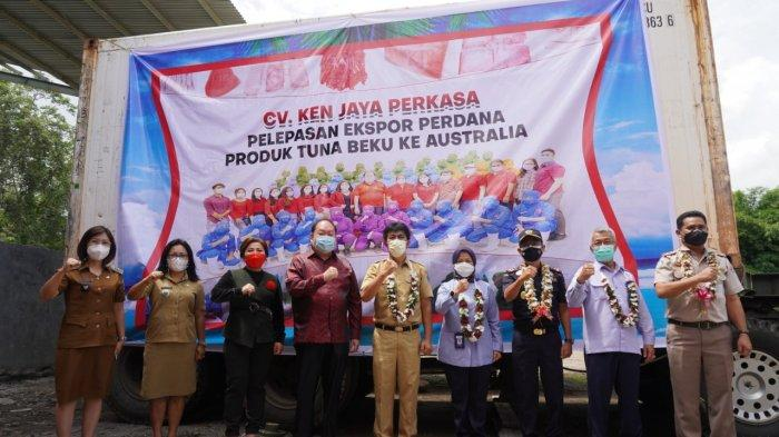 Agung Riandar Kurnianto: Hari Ini Ada Lagi Ekspor Perdana Frozen Ikan Tuna Beku