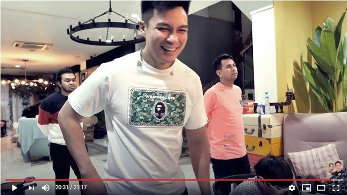 Ekspresi Baim Wong saat uangnya ditolak Rafathar