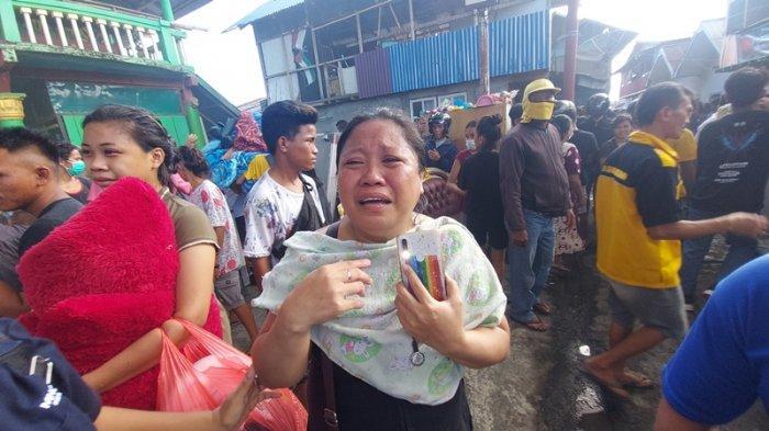 130 Rumah dan Satu Masjid di Pasar Tua Bitung Hangus Terbakar