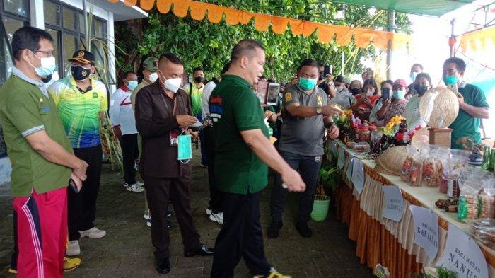 Bupati Elly Engelbert Lasut Launching Galeri UMKM di Kabupaten Talaud