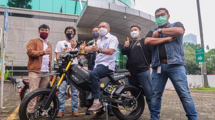 Elnusa Bakal Kenalkan Elbike, Motor Listrik Bergaya Trail, Dapat Dipacu hingga 100 Kpj