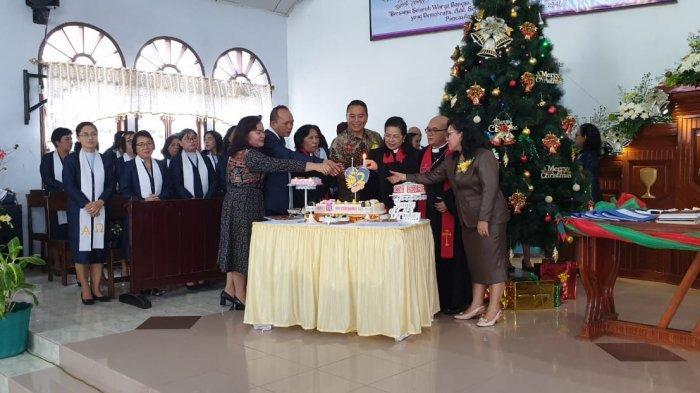 Eman Datang ke HUT ke-52 Perayaan Jemaat di Kelurahan Ini, Ucapkan Selamat Bertugas