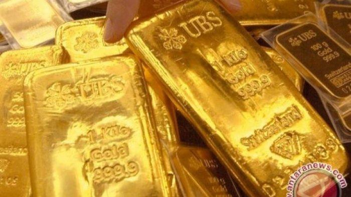 UPDATE, Harga Emas Antam Hari Ini Kembali Turun, Berada di Posisi Angka Rp 970.000 per Gram