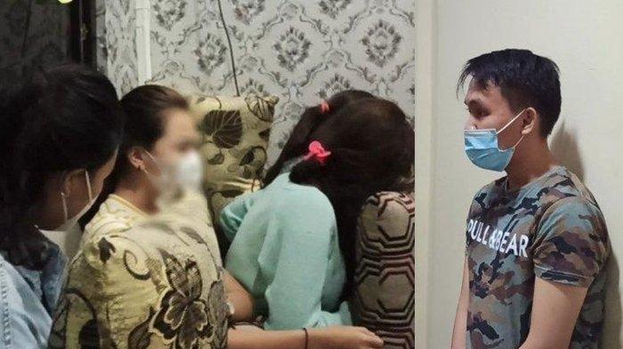 Empat Gadis Layani Pria Berinisial R Diciduk Polisi bersama Muncikari Prostitusi, Per Anak Rp 5 Juta