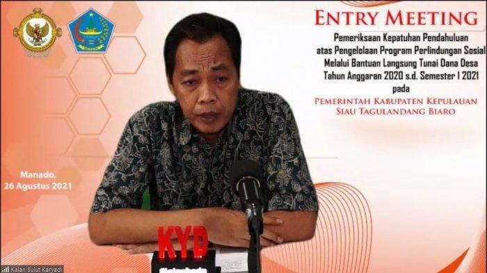 BPK 'Obok-Obok' Pemkab Sitaro, Audit Pengelolaan Bansos Dana Desa
