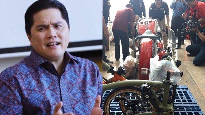DIRUT Dipecat, Erick Thohir Ungkap Proses Bobroknya Penyelundupan Harley Davidson di Maskapai Garuda