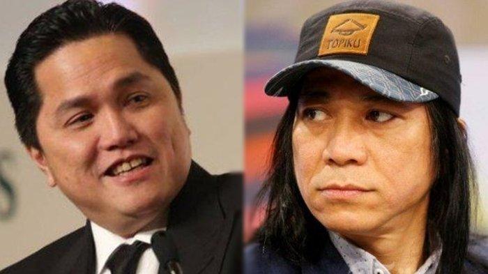 Alasan Erick Thohir Tunjuk Abdee Negara Gitaris Slank Jadi Komisaris PT Telkom Indonesia